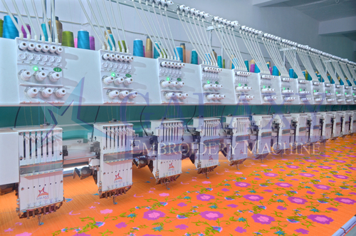 Computerized Embroidery Machine (Bullet Model - 1000 RPM)