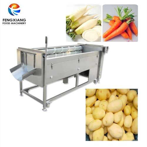 Mstp-1000 Potato And Ginger Washing And Peeling Machine