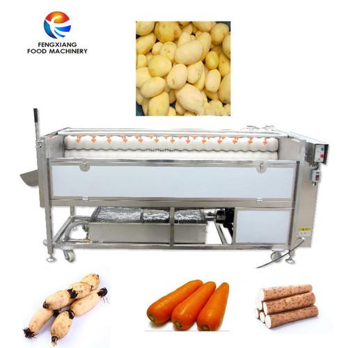 Px-1500 Carrot Ginger Taro Washing And Polishing Machine