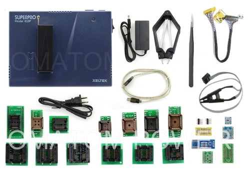 XELTEK SuperPro 610P Universal Programmer With 20 Adapters