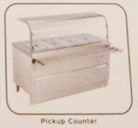 Commercial Kitchen Pickup Counter