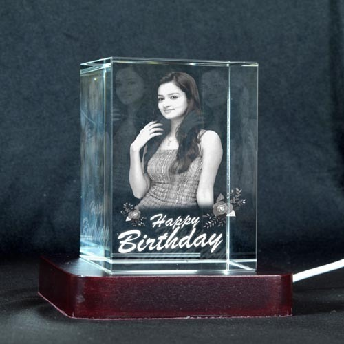 3d Personalized Crystal Gift