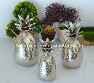 Silver Pineapple Cup