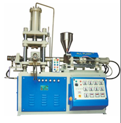 Vertical Clamping Horizontal Injection Moulding Machine