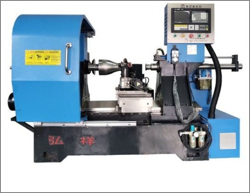 X-400 Simple CNC Metal Spinning Machine For Copper