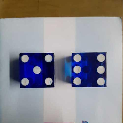 Casino Acrylic Dice