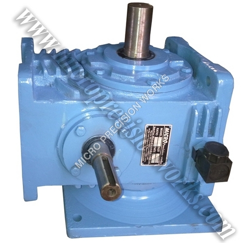 Vertical Double Worm Reduction Gearbox