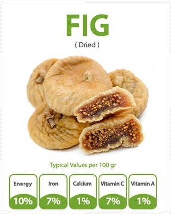 Light Brown Dried Fig