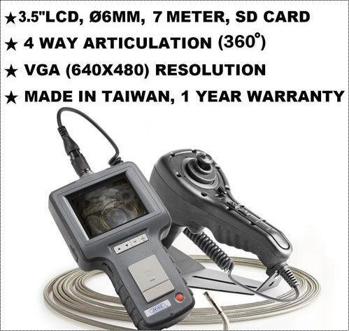 4 Way Articulation VGA Inspection Video Borescope (JFVS-60074)