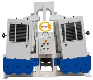 Semi Automatic Paddy Separator for Rice Mill