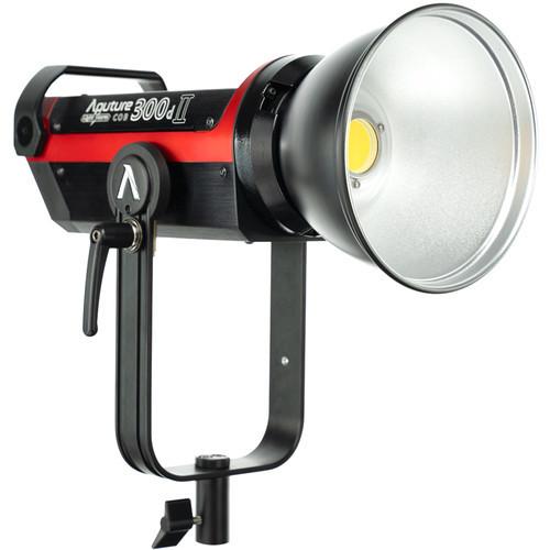 Black Aputure Light Storm C300D Mark Ii Led Light Kit