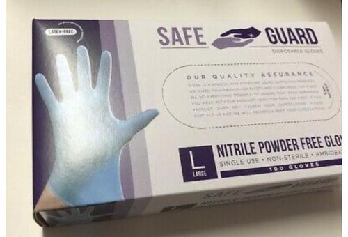 Disposable Powder Free Nitrile Hand Gloves Grade: Medical