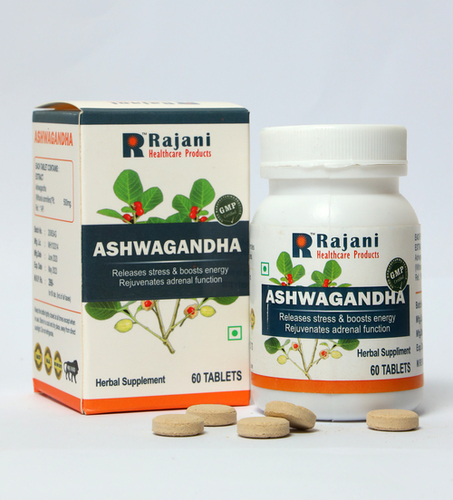 Gmp Certified Ashwagandha Tablets
