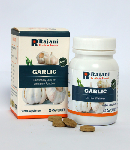 Gmp Certified Garlic Capsules