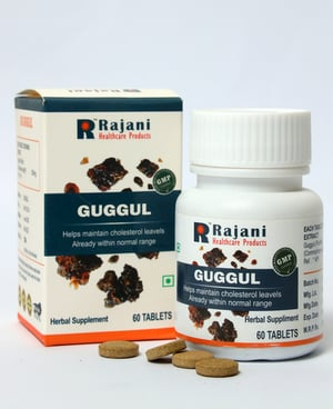 Gmp Certified Guggul Tablets