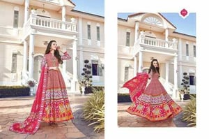 Fully Stitched Designer Gown