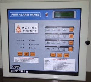Electric Fire Alarm Control System