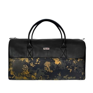 Textured Leatherette Duffle Bag DF1005