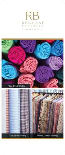 Exclusive Yarn Dyed Shirting Fabric