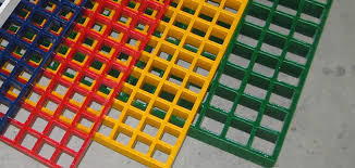 Colored Frp Gratings