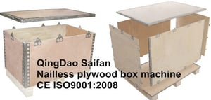Nailless Collapsible Plywood Boxes