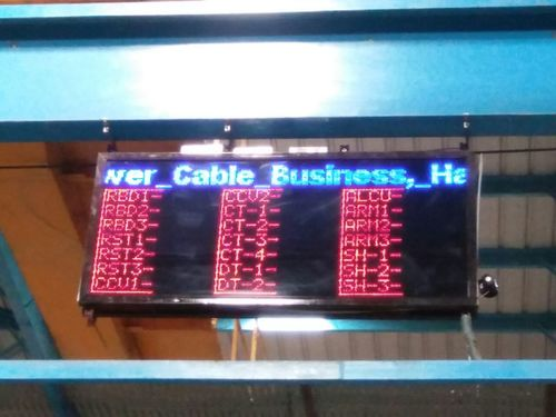 Pokayoke Led Display Board