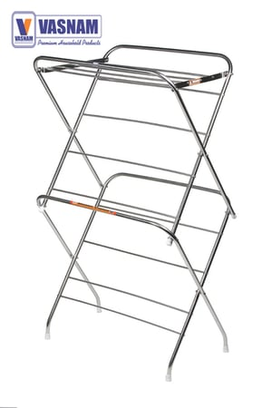 Effective Cloth Drying Stand With 12 Rods
