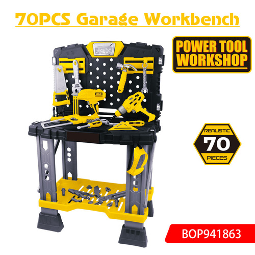 Realistic 70 pcs Garrage Workbench Toy