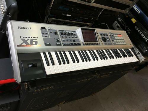 Roland Fantom X6 61 Key Keyboard Synthesizer