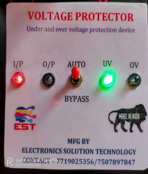 Industrial Voltage Protection Relay