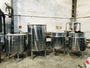 SS316 Process Reactor with 1 Year Warranty