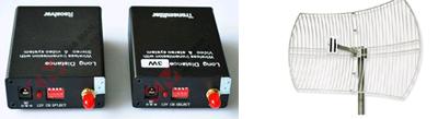 5 Km Audio Video Transmission Device