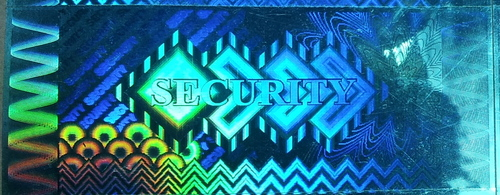 Secure Valid Authentic Certified Hologram Label