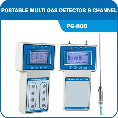 Portable Multi Gas Detector (Pg-800)