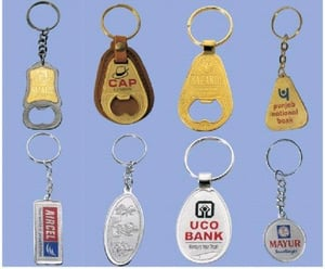Silver/Golden Plated Key Chains