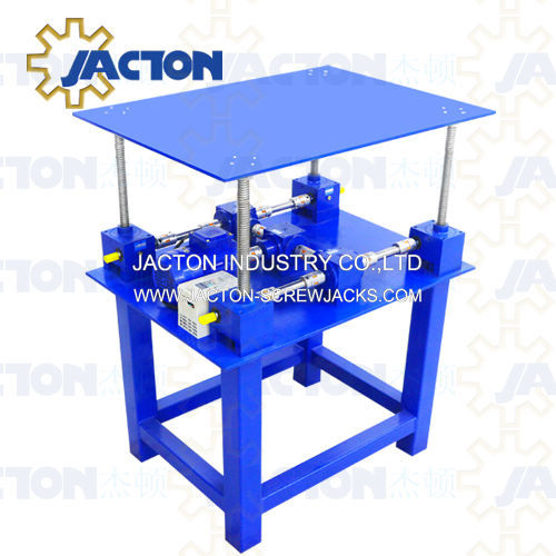 Mechanical Worm Gear Screw Jack Lifting Systems