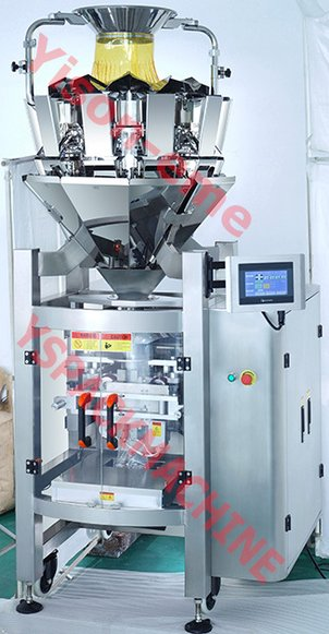 Grain Packing Machine And Linear Scale