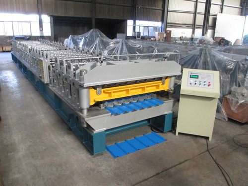 Double Decker Roof Forming Machine