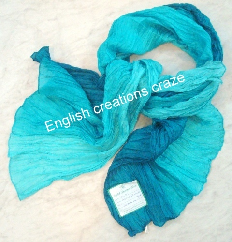 Silk Dyed Scarves