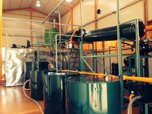 ZSA Used Oil Recycling Waste Engine Oil Regeneration To Base Oil Equipment