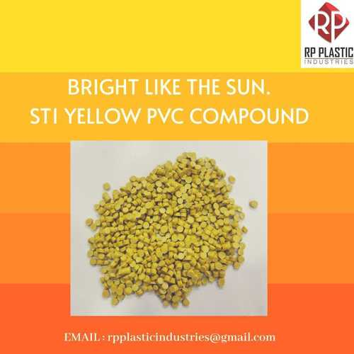Pvc Yellow St1 Cable Compound