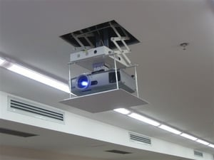 Remote Controlled Motorized Projector Lift