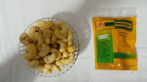 Natural White Roasted Cashews Nuts
