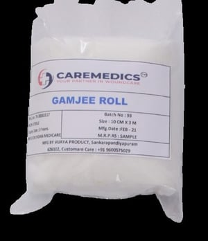 Highly Absorbent Cotton Gamjee Roll
