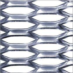 Pre-Galvanised Mild Steel Metal Expanded Metal Round Hole