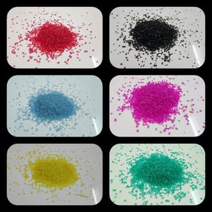 Colored Silica Sand for Art Work and Foot ball Playground Landscape