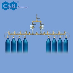 Manual Change-Over Medical Gas Cylinders Manifold System