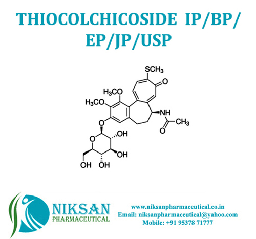 Thiocolchicoside Ip/Bp/Ep/Usp