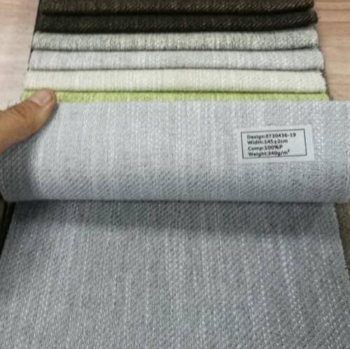 Two Tone Twill Upholstery Fabric With Pongee Backing Certifications: Sgs Testing Report
