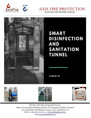 Automatic Timber Controlled Disinfectant Tunnel